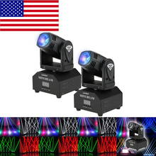 LED Stage Effect Lamp Moving Head DMX512 Sound Activated Master-slave 11/13 Channels RGBW Beam Light for Disco KTV Club Party(China)