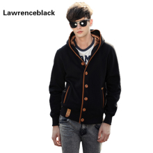 Cardigan Sweatshirts And Hoodies Men Hip Hop Fashion Capucha Black Cloak Hooded Man Casual Sweatshirt Jacket Sudaderas Hombre 12(China)