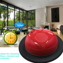 Newly Red Rechargeable Intelligent Robot Robotic Vacuum Cleaner Auto Clean Hard Floor Mop Sweeping Machines