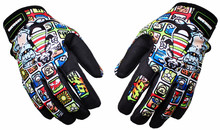 Popular GP PRO Motorcycle Gloves MotoGP Top Leather Moto Road Racing Gloves Motorbike Protective Gear(China)