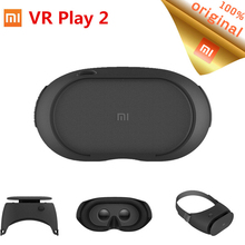 New Original Xiaomi VR Play 2 Virtual Reality 3D Glasses Headset Xiaomi Mi VR Box 2 With Game Controller for 4.7- 5.7'' Phone(China)