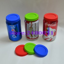 Food grade Silicone lids for coke cans and beer can,Eco-friendly lids for pop cans,dust proof lids for SODA can plumyl(China)