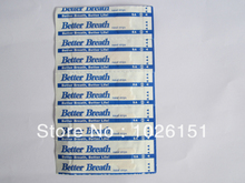 Free shipping FedEx, CE certificate breathe nasal strips, medium size 500pcs per lot,  nasal strips breath for nose snore