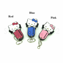 NEW mini Hello Kitty cat model usb 2.0 Memory Stick Flash pen Drive personalizado 4GB 8GB 16GB 32GB 100% Genuines pendrive