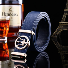 Buy 2017 high men belts genuine leather pu luxury strap fashion designer etallica buckle/cinto masculino co/mlb092 for $9.28 in AliExpress store