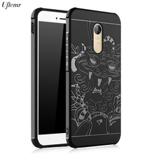 Phone Case for Xiaomi Redmi Note 4X Matte 3D Silicon Brushed Armor Soft Back Cover For Xiaomi Redmi Note 4 X Pro Prime Case(China)