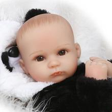 Buy Creative Baby Gifts Soft Silicone Rebirth Baby Girl Doll Realistic Cute Lovely Baby Doll New Born Toddler Toy Magnetic Mouth