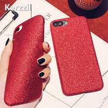 Buy Kerzzil Bling Glitter Shining Red Green PU Leather Soft Case iPhone 7 6 6S Plus Phone Cover Back iPhone 6 7 6S Capa for $2.29 in AliExpress store