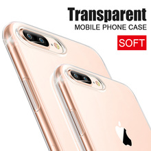 Buy Transparent Case iphone 8 8 plus Ultra Thin Clear Soft TPU Silicone Cases Cover iphone 8 Plus 8Plus Case Coque Fundas for $2.99 in AliExpress store