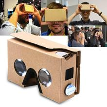 New DIY Cardboard VR Virtual Reality 3D Glasses for google / android / iPhone APE