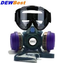 Dewbest 6021XHS699 многоразовые Респиратор маска/противогаз портативный респиратор черный защитные очки пожарные маски(China)