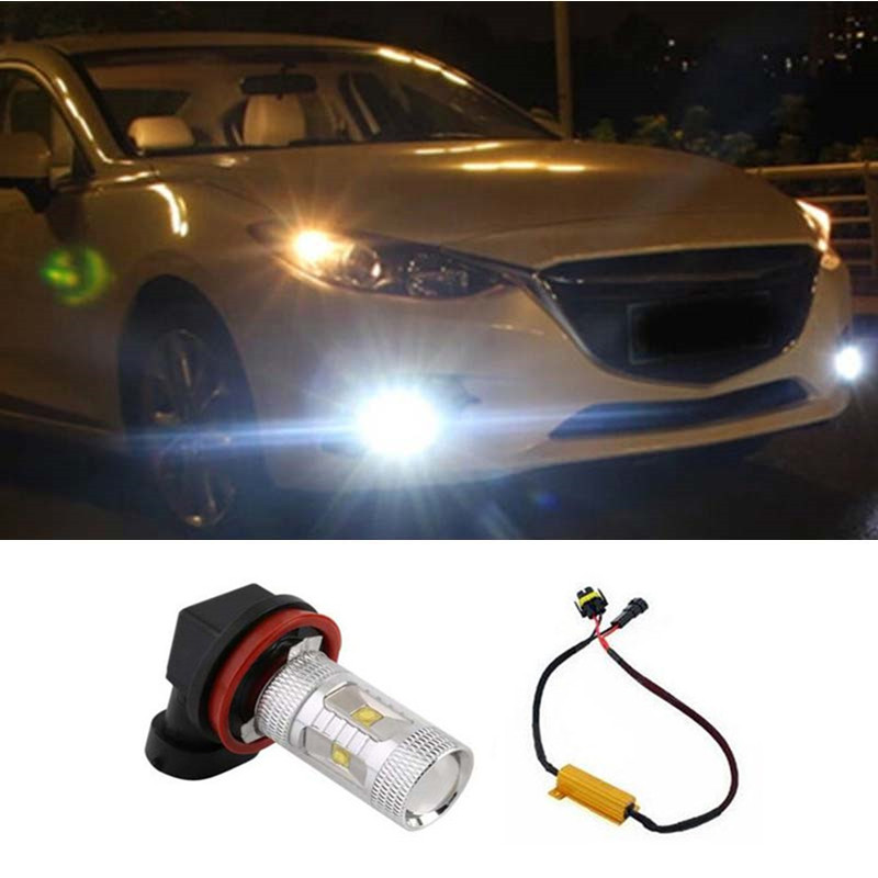 1pcs H11 H8 LED 30W Fog Light Bulbs For Mercedes Benz BMW Audi Car styling<br><br>Aliexpress