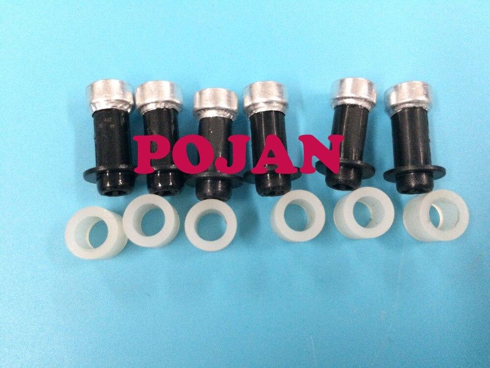 6set INK Nozzle connection CQ869-67072 CQ109-67004 FIX Designjet z4000 z4500 z6100 z6200 T7100 L25500 L26500 PLOTTER  INK TUBES<br>
