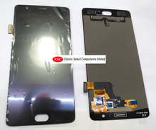 LCD Display + Touch Digitizer Screen glass For  Oneplus 3T A3010   free shipping