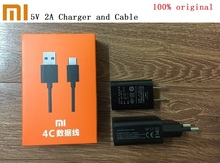 Original XIAOMI 5V 2A Charger Adapter + micro or type-c Cable for redmi pro 3 3X 3X 4A 4X MI NOTE4 X 6 5 5C 5S + 4C 4S MIX MAX 2