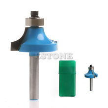 "1PC 3/4"" Radius 1/4"" Shank Round Over Beading Edging Router Bit Woodworking Tool"