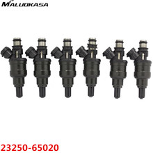 MALUOKASA 6PCs 23250-65020 Fuel Injector For Toyota 4Runner Pickup T100 3VZE V6 Flow Match Automobiles Car -Styling Accessories(China)