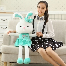45cm/65cm/85cm New Arrival Cute Love Skirt Rabbit Dolls Stuffed Animal 2 colors Plush Toys Soft Doll YZT0080