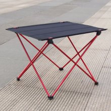 SZS Hot Portable Foldable Folding Table Desk Camping Outdoor Picnic 6061 Aluminium Alloy Ultra-light(China)