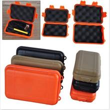 Outdoor Shockproof EDC Boxes Survival Case Holder For Matches Travel Container Waterproof shockproof box
