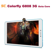 Hot ! 8 inch Colorful G808 3G MTK6592 Octa Core Tablet PC IPS 1280x800 3G Phone Call MID 1GB/2GB 16GB Android 4.4 Bluetooth GPS