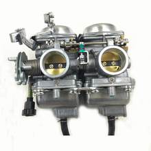 Duplex Twin Cylinders Rebel Motorcycle Carburetor Assy Set for MIKUNI Chamber Carb Set CMX 250 CBT250 CA250 DD250 300cc(China)