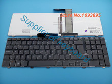 New Spanish/Latin keyboard For Dell Inspiron XPS 17 L702X 5720 7720 N7110 Vostro V3750 3750 Latin Keyboard gray key With Backlit(China)