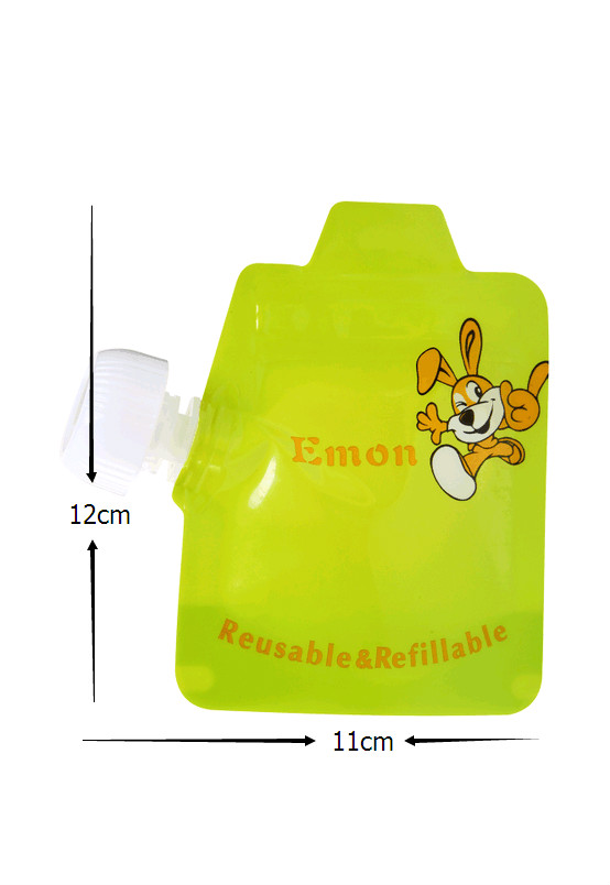8pcslot Reusable Food Pouch Baby Food Pouches easy clean food bag Double Zipper Organic Baby Kids Food Pouch Topper Organizer (14)