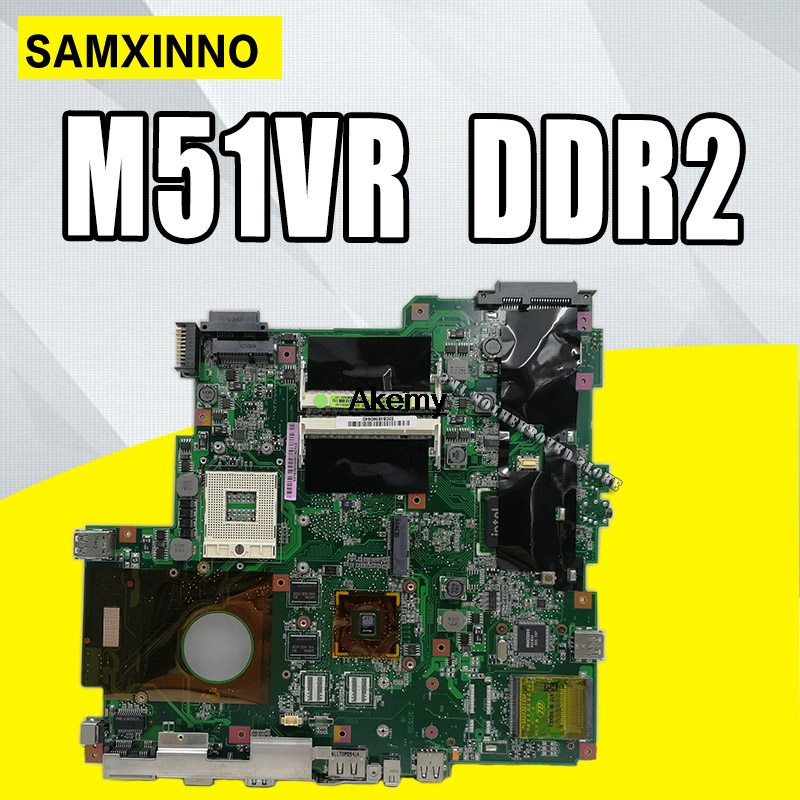 LAPTOP MOTHERBOARD For ASUS M51VR series M51VA M51V 08G2005MA20Q PM45 DDR2 title=