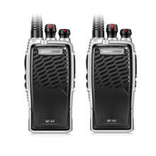 New Baofeng BF-K5 Professional Walkie Talkie 5W Power Portable Ham Two Way Radio UHF 400-470MHz Push To Talk For Hunting 2PCS