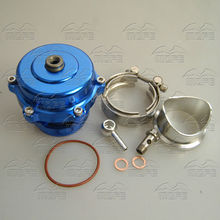 SPECIAL OFFER MOFE V Band 50mm Q Blow Off Valve With Spring Rate: 10 PSI Blue