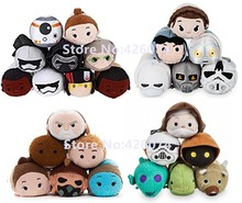 Tsum Tsum Star Wars Princess Leia Snow Trooper Obi Wan Kenobi Captain Phasma BB-8 Plush Toys Kids Stuffed Smartphone Cleaner