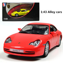 Classic toys! 1 : 43 Pull back high quality metal cars toy, Exquisite box Supercar, Diecasts car,Free Shipping