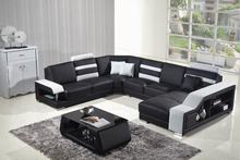 leather corner sofas with genuine leather sectional sofa U shaped
