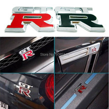 Motorcycle Stickers Car 3d Metal Gtr Emblem Badges Sticker Decal For Nissan G32 R33 R34 R35 High Quality Body Motor Decoration