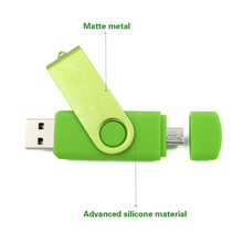 High Quality 128GB USB Flash Drive For Android Metal Pen Drive Memory Stick Mobile Otg Micro 4GB 16GB 32GB 64GB Pendrive