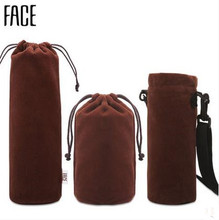 High Quality thermos flask mug covers thermo vacuum cup case bag Sleeve sheath barrass jacket with Braces
