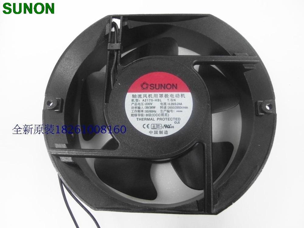 SUNON fan A2175-HBL T.GN 17CM 17*15*51MM  1751 230V Fans<br>