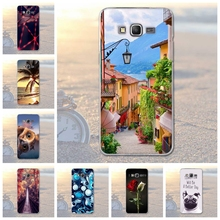 For Samsung Galaxy Grand Prime G530 G530H Scenery Pattern TPU Soft Cover For Samsung Grand Prime G530Y G530FZ G531 Phone Case(China)