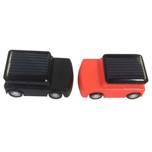 High Quailty Kids DIY Assemble Solar Powered Educational Toy Mini Solar Car Red & Black Classic Solar Toy for Children Girl Gift(China)