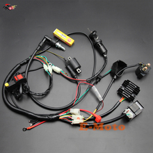 Complete Electrics Wiring Harness NGK Spark Plug CDI Ignition Coil Kits for Chinese Dirt Bike 150cc 200cc 250cc Zongshen Loncin