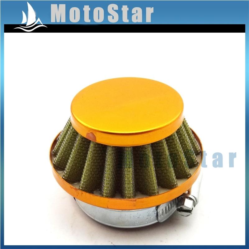 stoneder 60 mm rot Air Filter Reiniger f/ür 47 cc 49 cc Pocket Bike Mini Moto ATV Quad