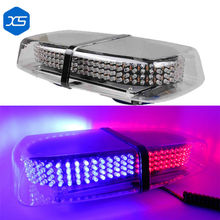 High Power 240 LED Car Roof Flashing Warning light Magnet Police LED Emergency Flare Vehicle Light bar 12V LED Police Light Bar(China)