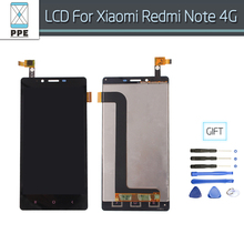 Lcd Replacement For Xiaomi Redmi Note 4G Lcd Display Touch Screen Digitizer Pantalla Assembly 5.5 inch Screen For Hongmi Note 4G(China)