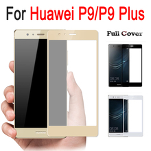 3D Full Cover Anti-Explosion 9H Tempered Glass For Huawei P9 Plus Screen Protector Guard Hardness Film Case P9 P 9 glas P9Plus