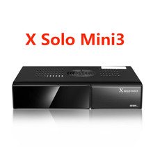 X SOLO MINI 3 Satellite Receiver 1200MHz Dual DMIPS Processor 1GB DDR3 4GB Serial Flash DVB-S2+DVB-T2/C X solo mini 3(China)