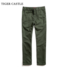 TIGER CASTLE Men Tactical Cargo Pants Brand Baggy Male Track Trousers Army Military Fashion Multi Pocket Men's Work Pants(China)