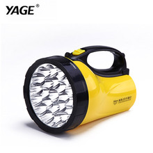 YAGE portable light led spotlights camping lantern searchlight portable spotlight handheld Flashlight night lamp light YG-3506(China)