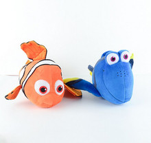 Free Shipping 40pcs/lot Finding Nemo plush toys, Nemo and Dory fish Stuffed Animal Soft Plush Toy for baby gift