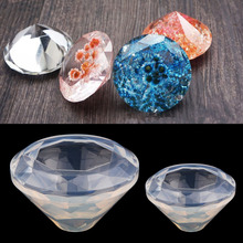 Diamond Shape Silicone Mold Mould Resin Pendant Jewelry Making Mold DIY Craft Tool(China)